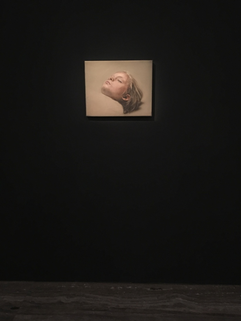Michaël Borremans. Sleeper. 2007–2008.