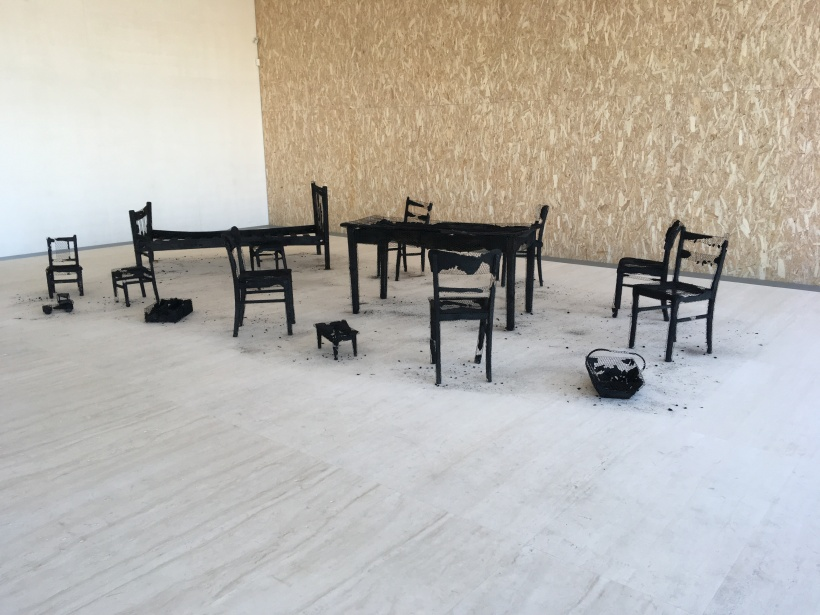 Mona Hatoum. Remains of the Day. 2017